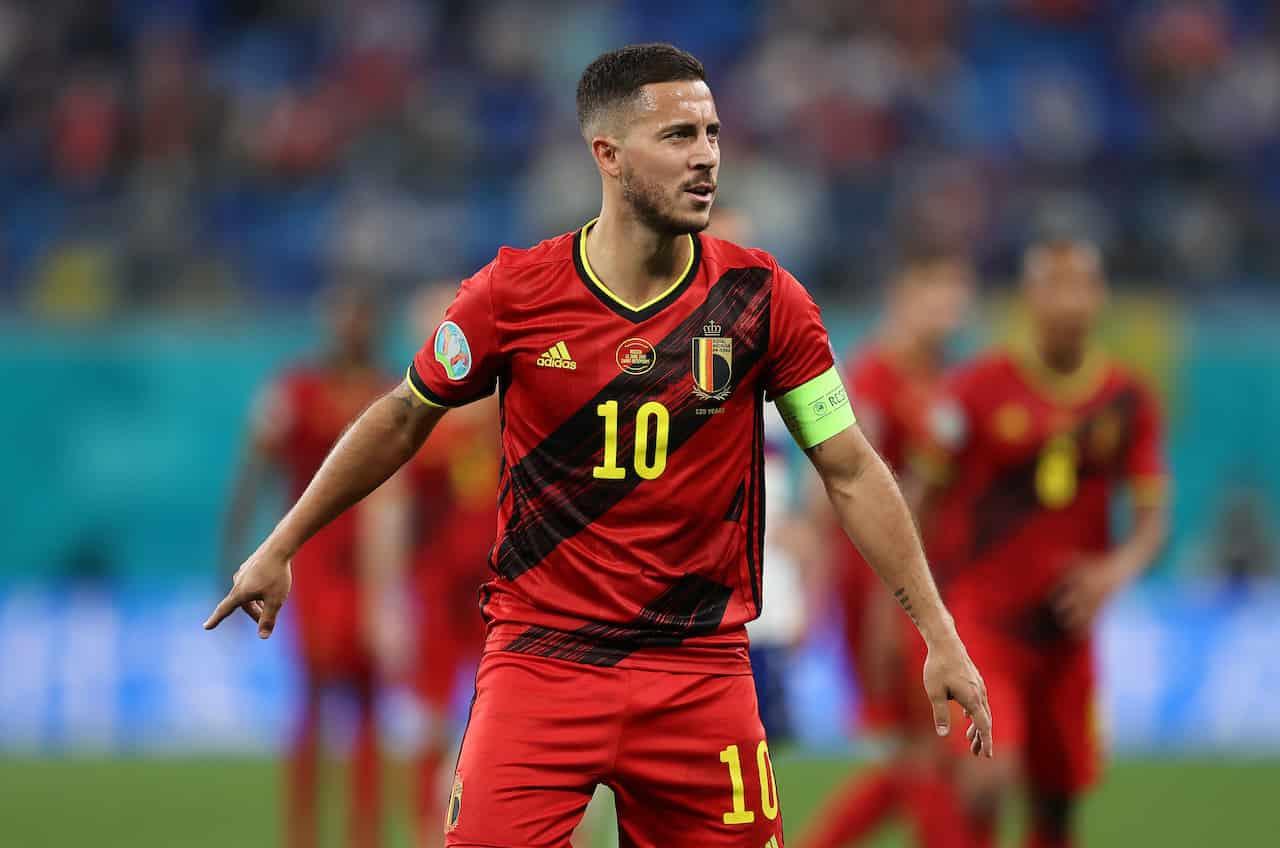 Belgio Italia De Bruyne Eden Hazard