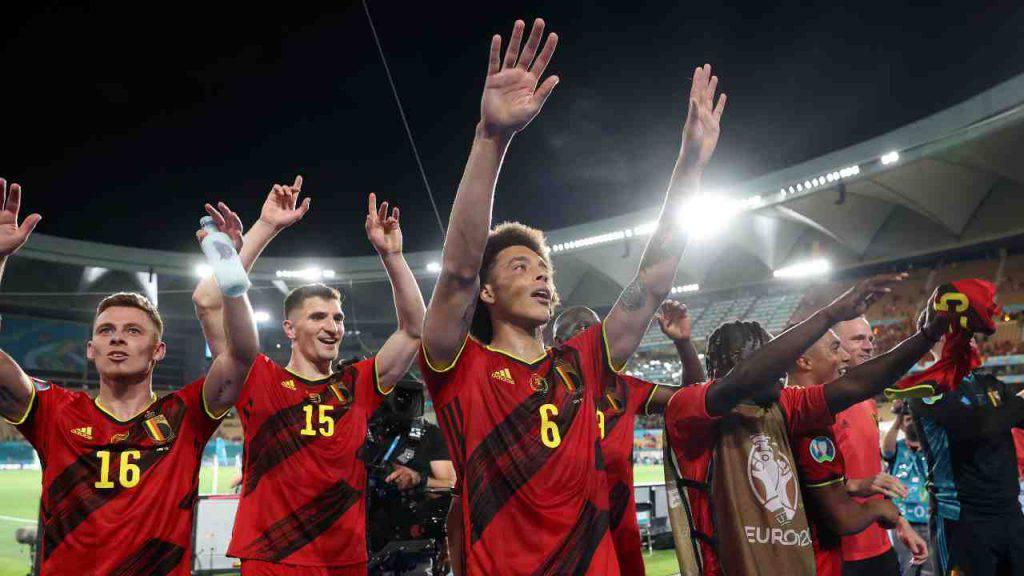 belgio polemica calciatori
