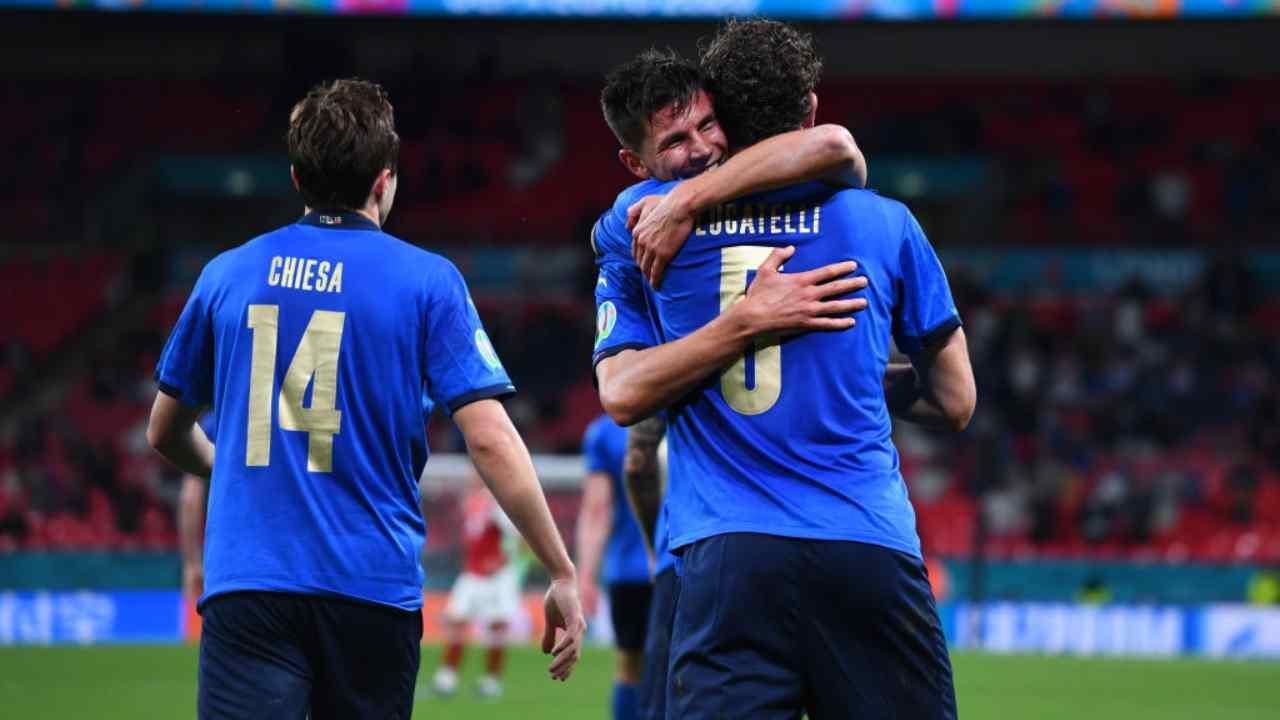 EURO 2020, Italia-Austria 2-0 DIRETTA