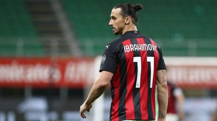 Ibrahimovic infortunato