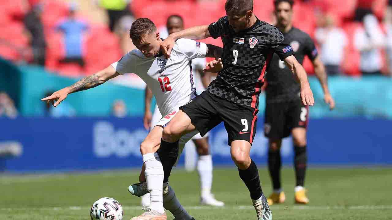 Pagelle Inghilterra Croazia