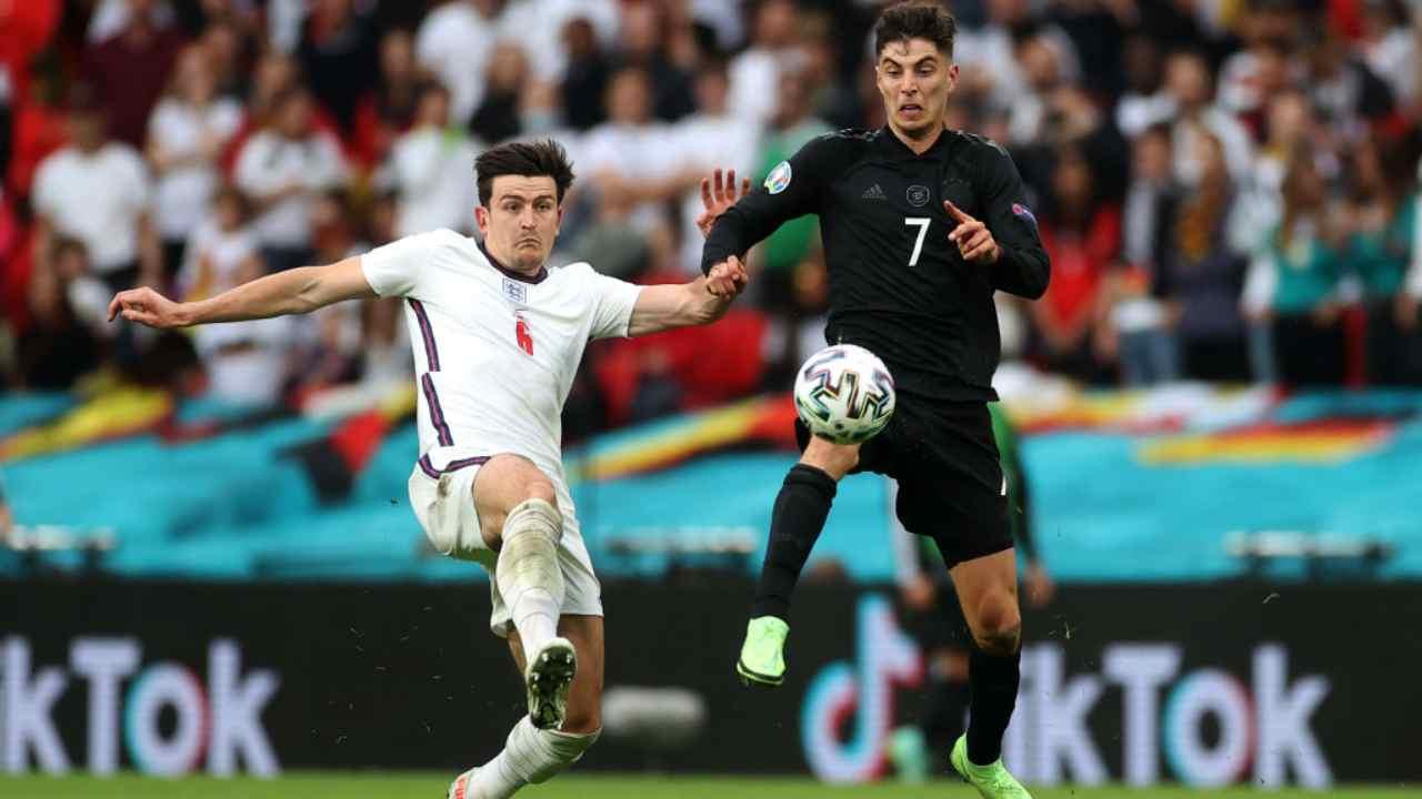 Inghilterra Germania Highlights