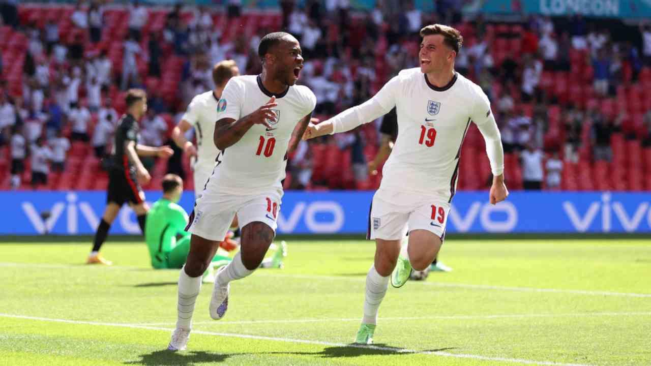 Inghilterra Sterling Wembley