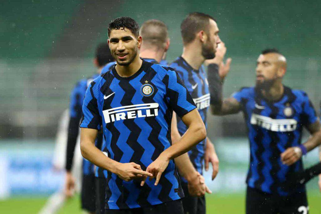 Inter Hakimi Marotta frena il PSG (Getty Images)