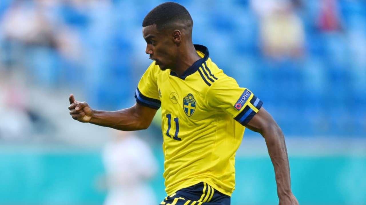 Isak Svezia EURO 2020