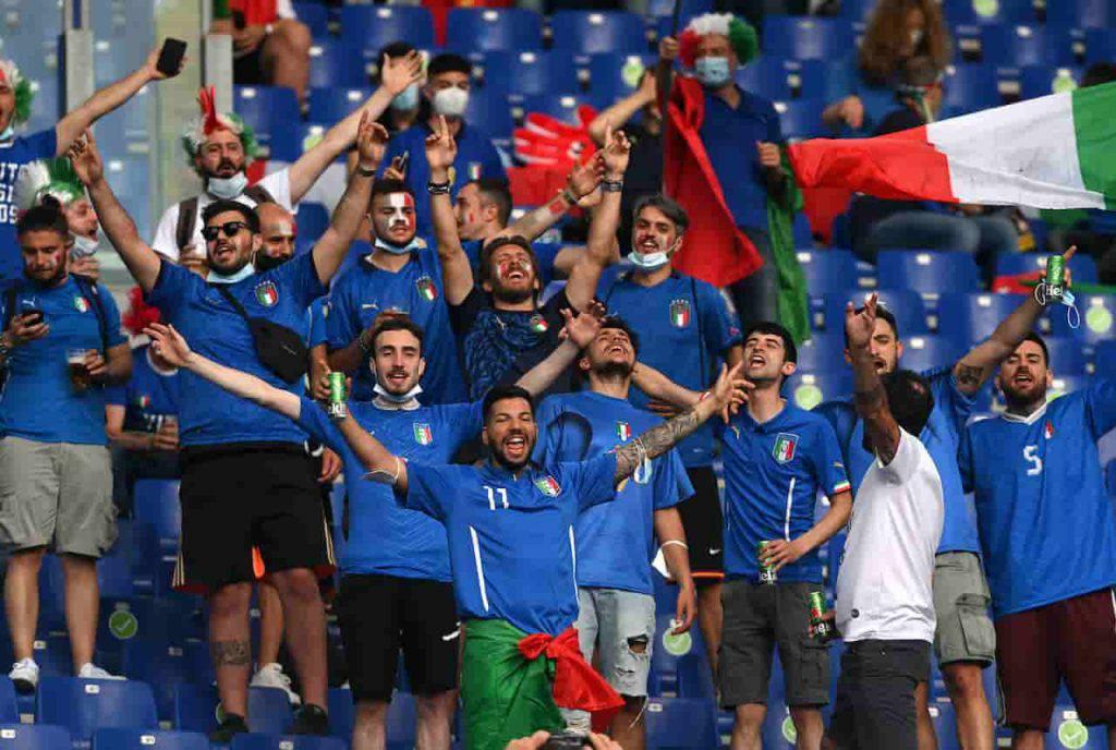 Italia-Austria show tifosi (Getty Images)