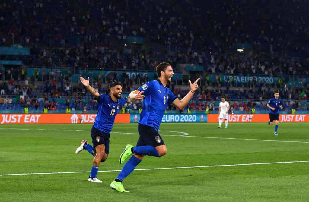 Italia-Svizzera Locatelli doppietta record (Getty Images)