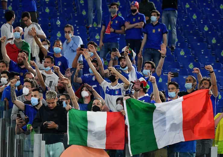 Italiani infastiditi sui social durante Belgio-Portogallo (Getty Images)