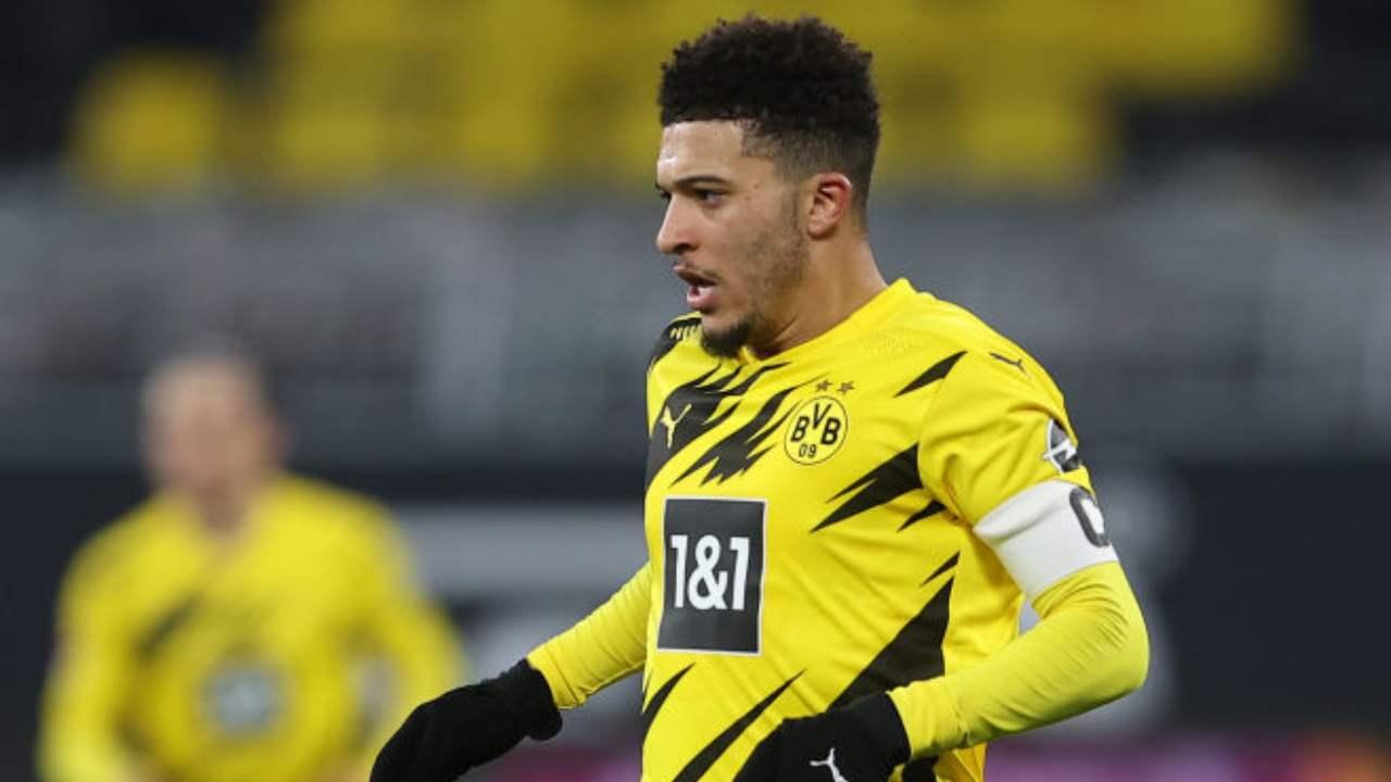Jadon Sancho Manchester United Borussia Dortmund