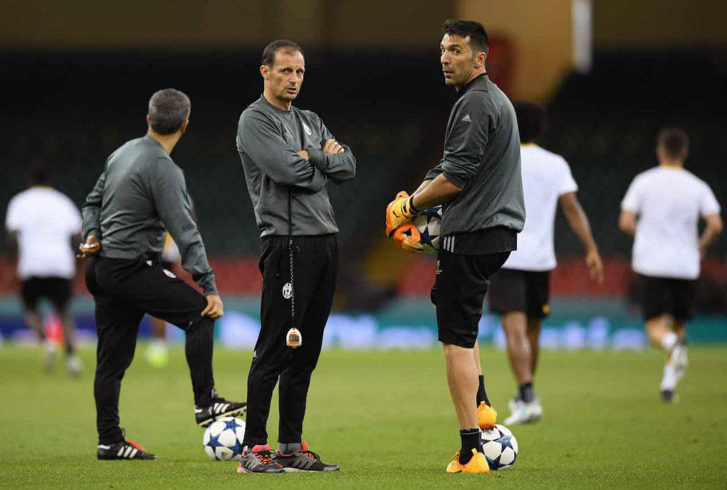 Juventus Allegri riparte da un veterano (Getty Images)