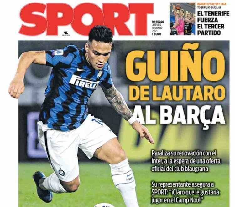 Lautaro Martinez Sport