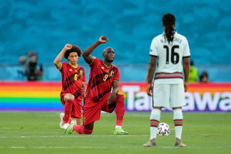 EURO 2020 Belgio Portogallo Razzismo