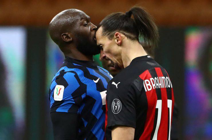 Lukaku e Ibrahimovic lite
