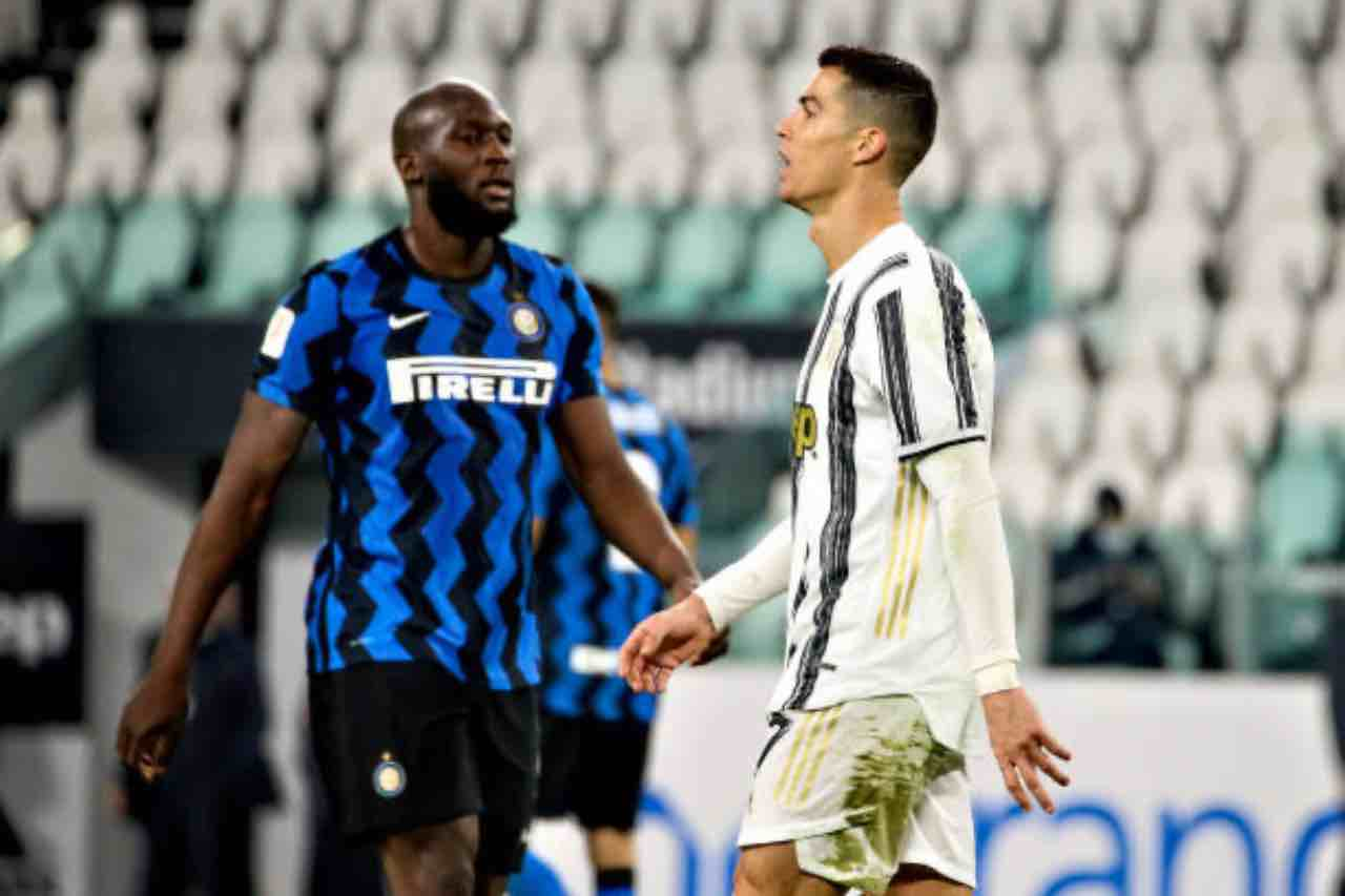 Lukaku e Ronaldo