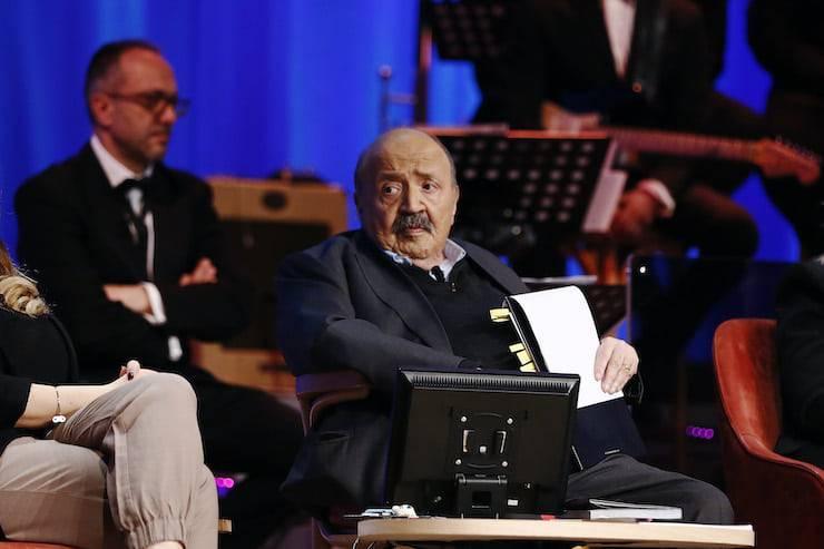 Maurizio Costanzo Roma passione e non solo (Getty Images)