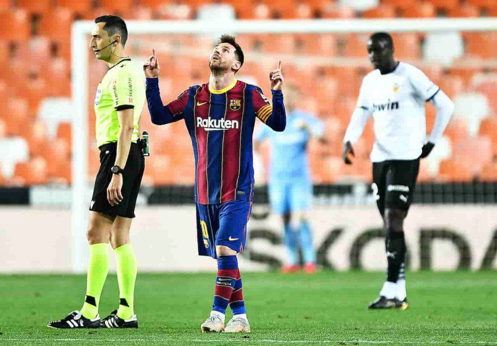 Messi Barcellona rinnovo (Getty Images)