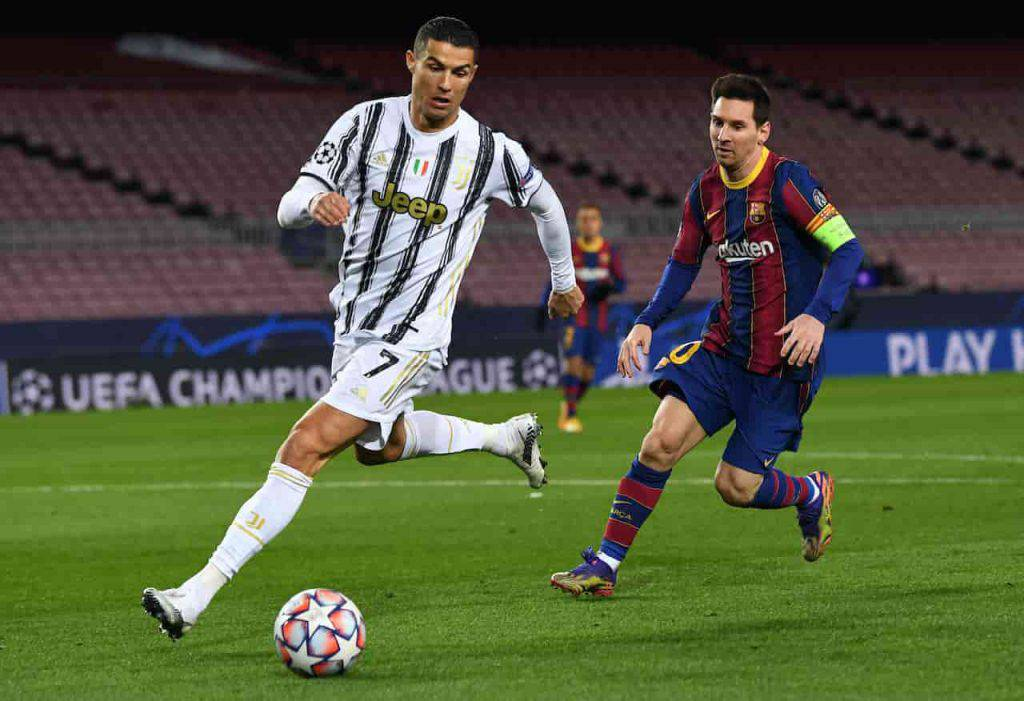 Messi-Ronaldo macchine (Getty Images)