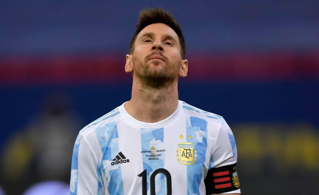 Messi attaccante