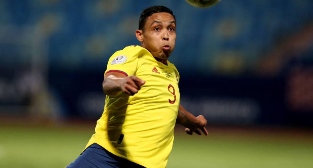 Muriel, attaccante della Colombia