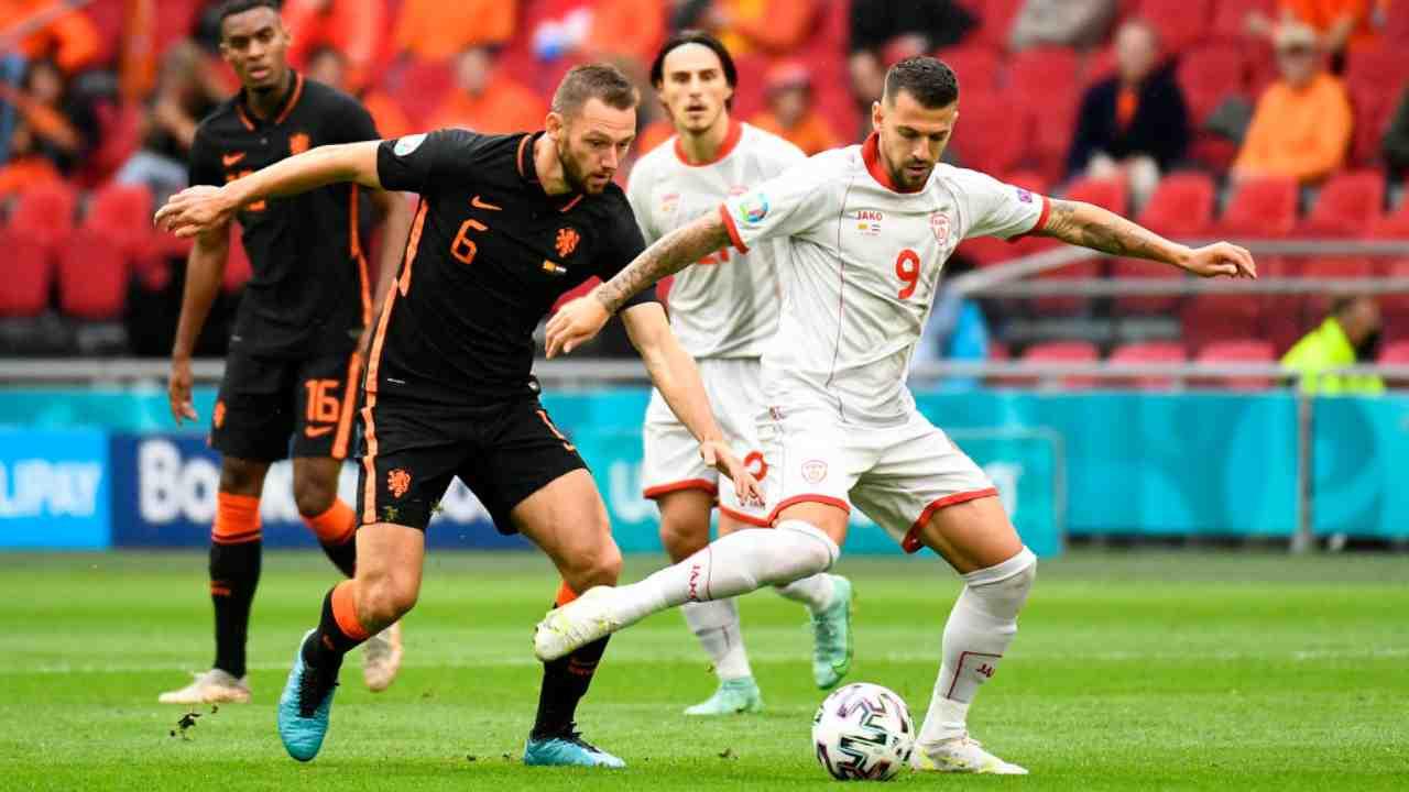 Olanda Macedonia Highlights EURO 2020