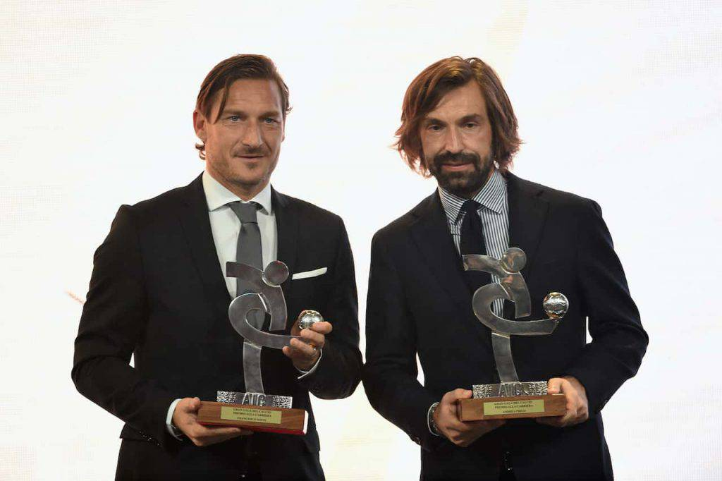 Padel Totti Pirlo (Getty Images)
