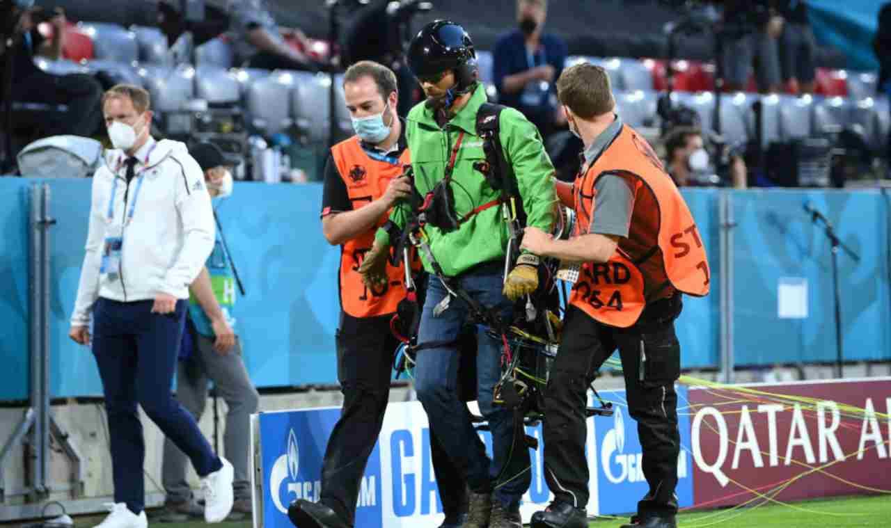 Paracadutista ad EURO 2020