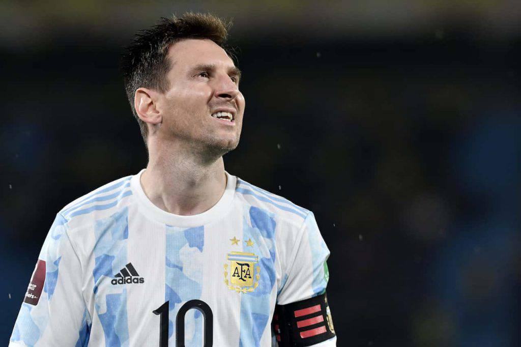 Pelagotti, la dedica a Messi (Getty Images)