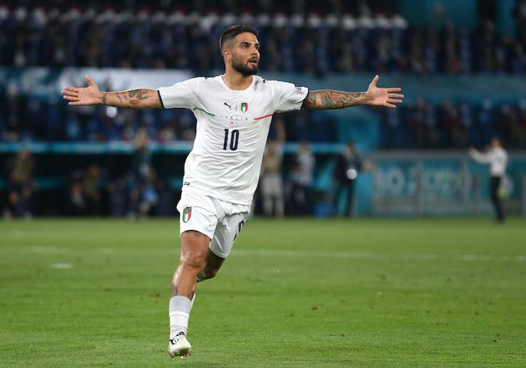 Portafortuna Insigne EURO 2020 (Getty Images)
