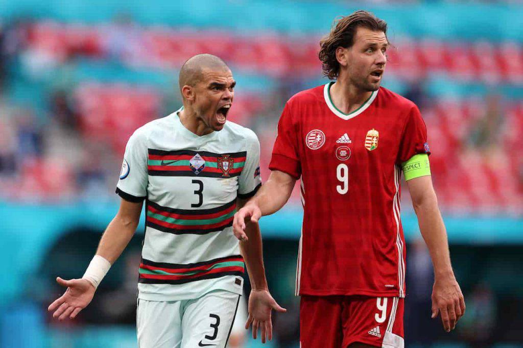 Portogallo Pepe sfuriate celebri (Getty Images)