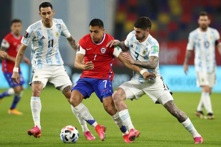 Argentina Cile Mondiali