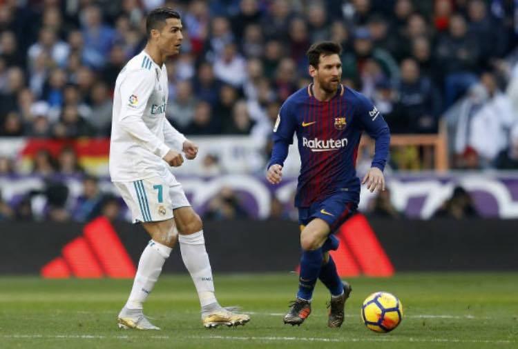 Sfida tra Cristiano Ronaldo e Messi