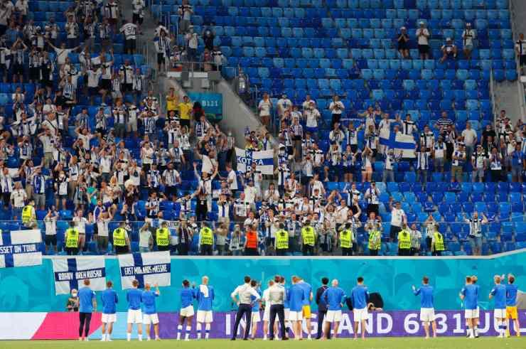 EURO 2020 Covid Tifosi Finlandia