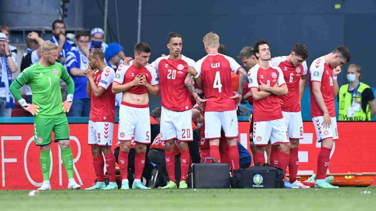 UEFA Eriksen Danimarca