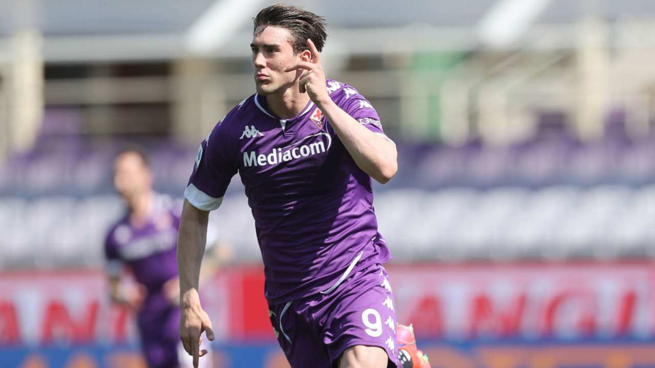 Vlahovic Fiorentina Liverpool