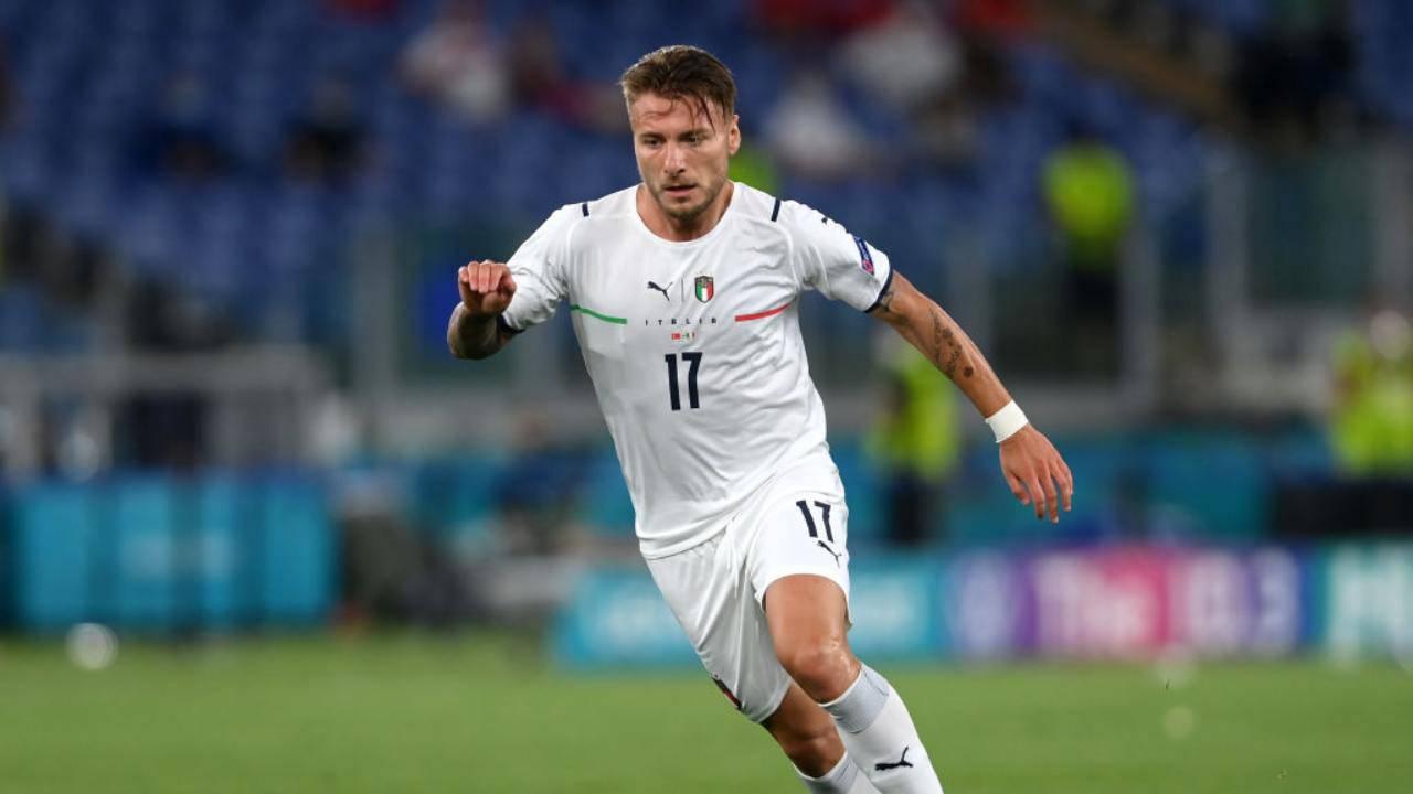 Ciro Immobile gol in Turchia-Italia, EURO 2020