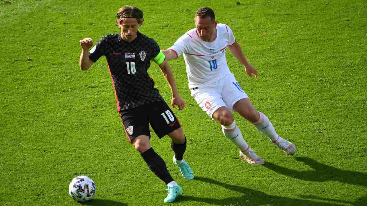 EURO 2020, highlights Croazia-Repubblica Ceca: gol e sintesi partita - VIDEO