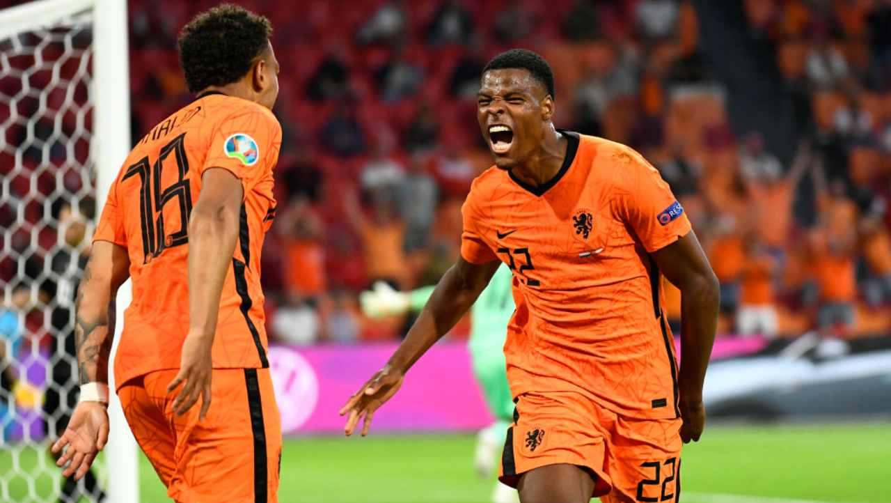 EURO 2020, Olanda-Austria Dumfries
