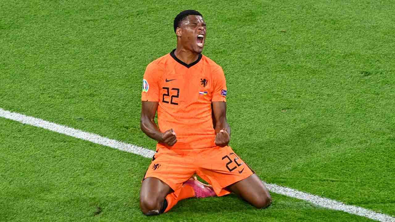 EURO 2020 Olanda-Ucraina 3-2: Dumfries segna il gol vittoria