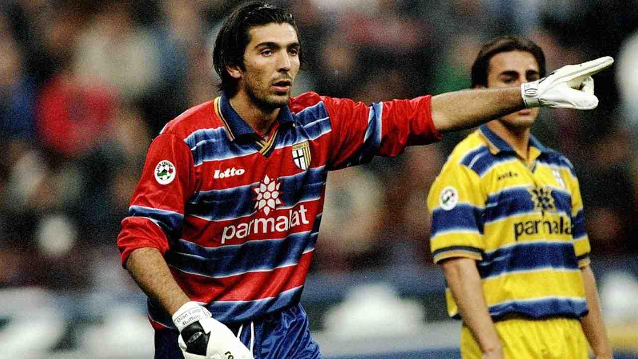 Gigi Buffon al Parma