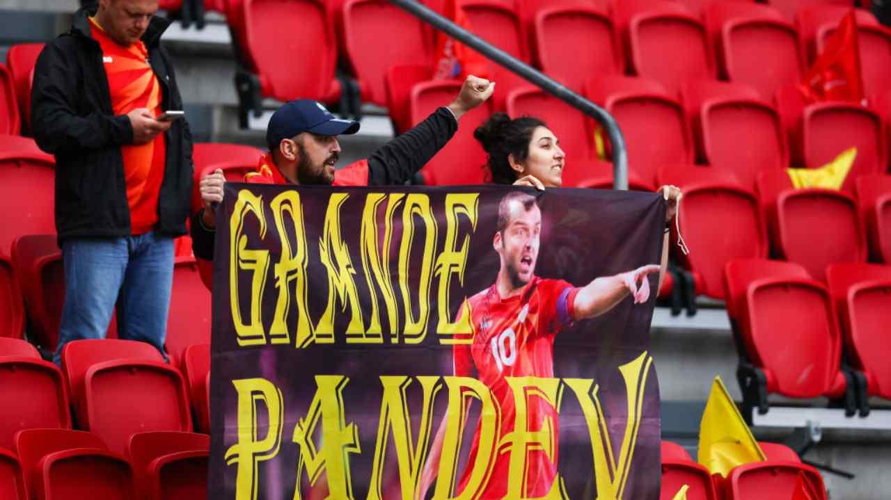 Goran Pandev eroe della Macedonia dice addio alla nazionale: l'omaggio toccante