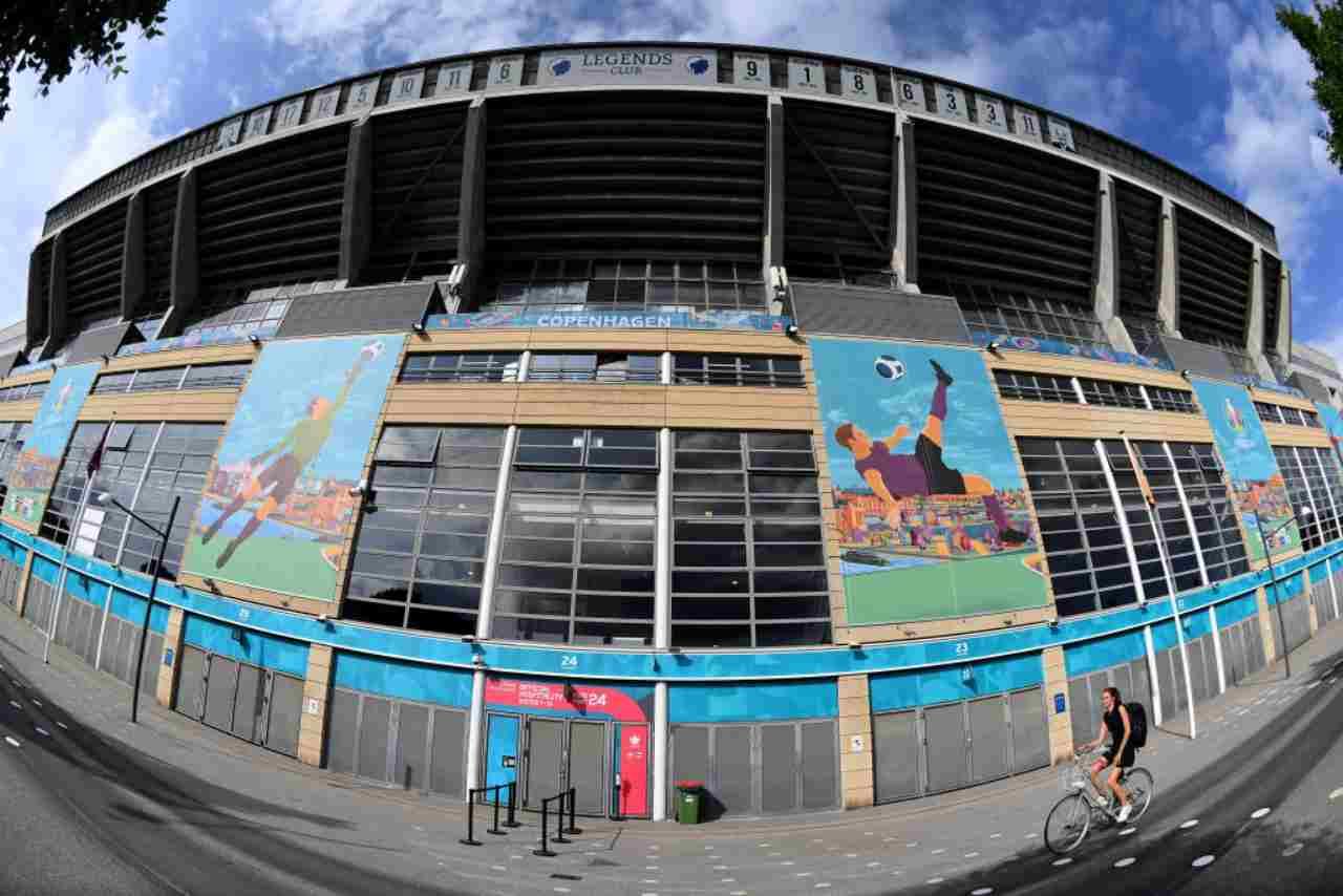 EURO 2020, la storia del Parken Stadium di Copenhagen