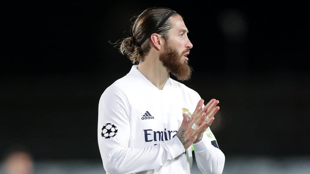 Sergio Ramos Real Madrid Conferenza
