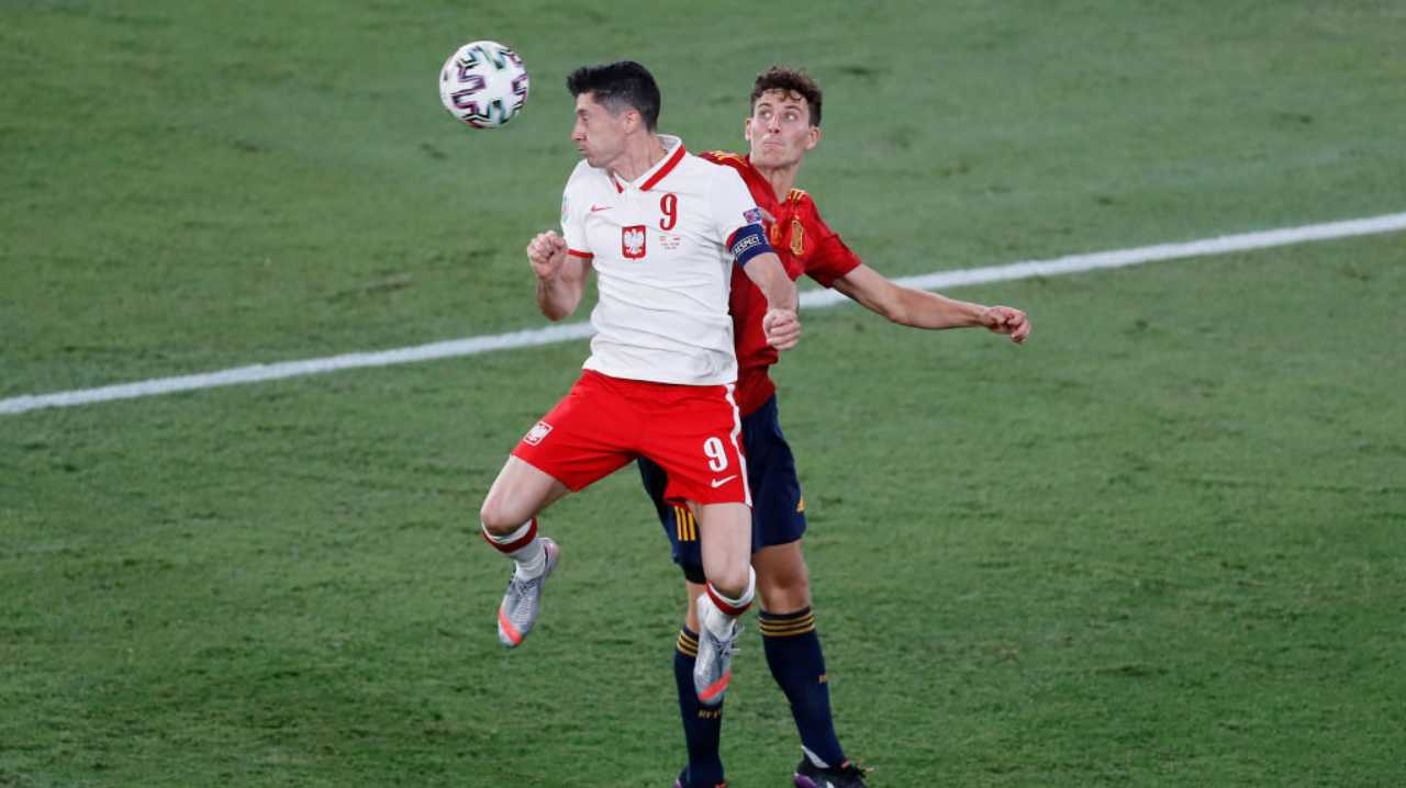 Spagna Polonia Sky EURO 2020