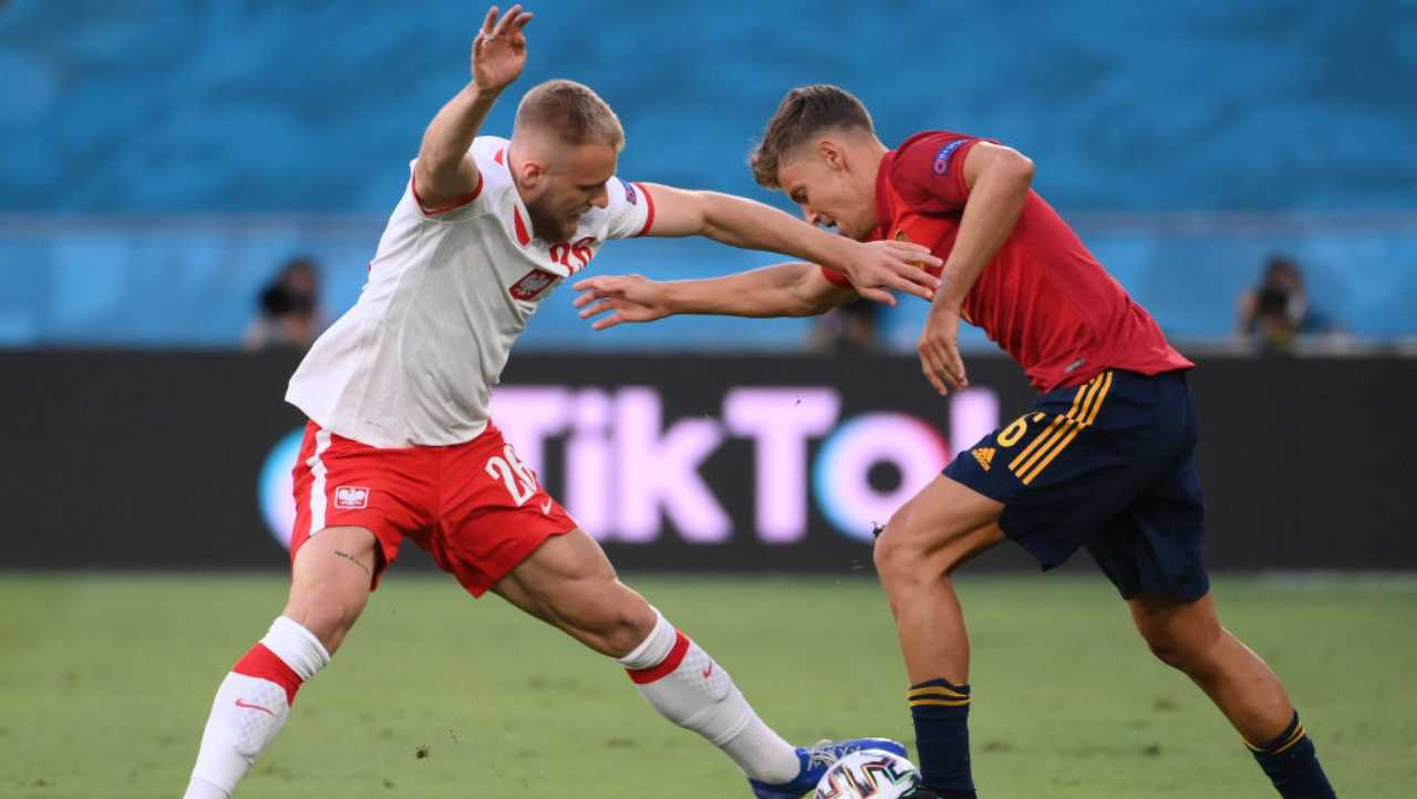 EURO 2020, Spagna-Polonia DIRETTA