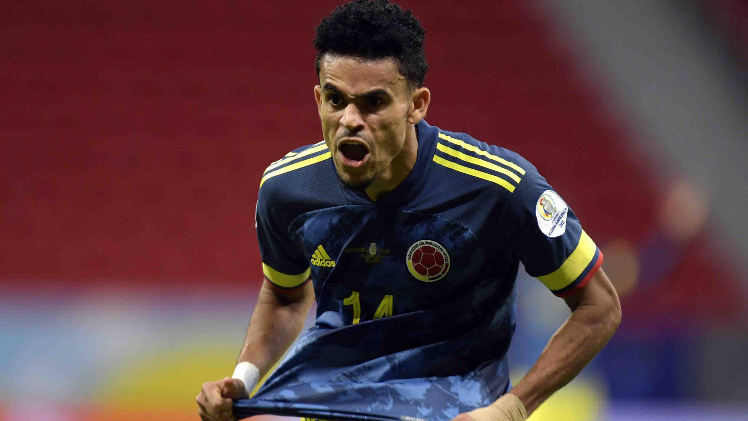 Copa America, Luis Diaz