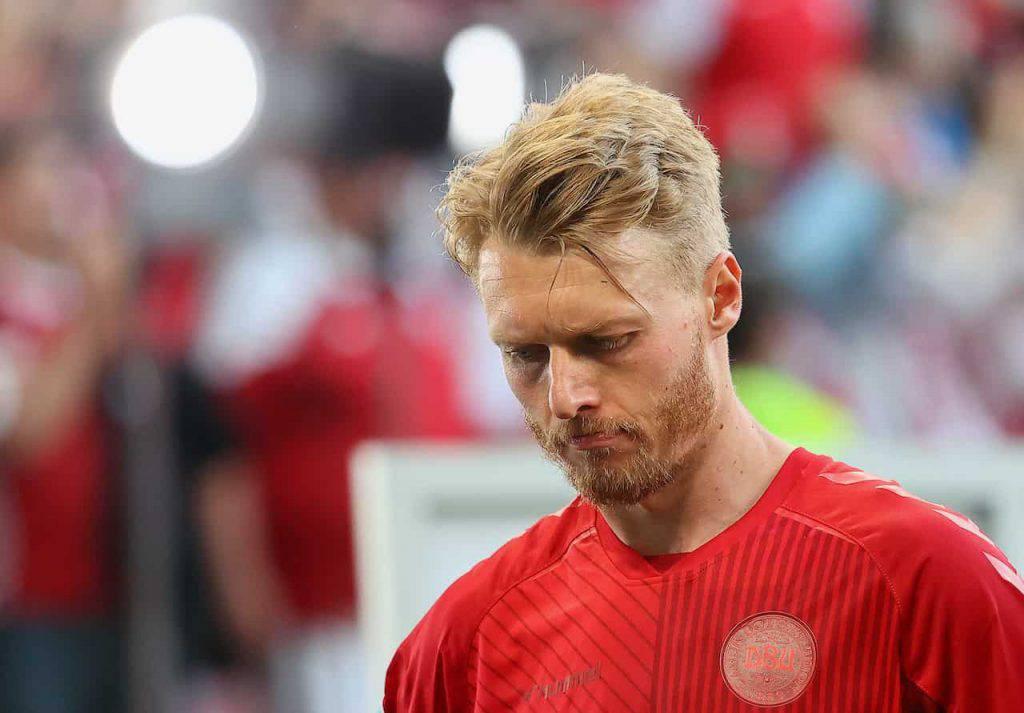 Danimarca Kjaer messaggio ai tifosi (Getty Images)