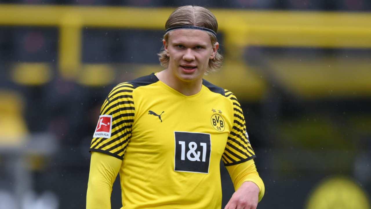 Haaland Borussia Dortmund Ritiro