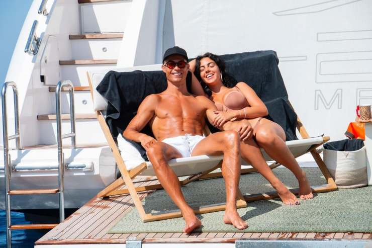 Georgina Rodriguez e Cristiano Ronaldo