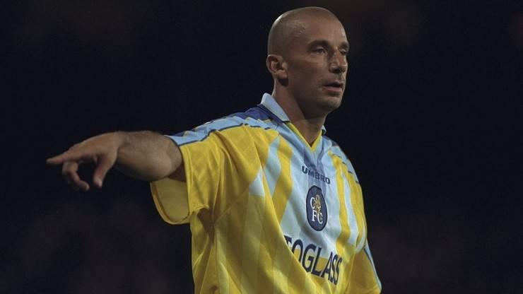 Gianluca Vialli Wembley