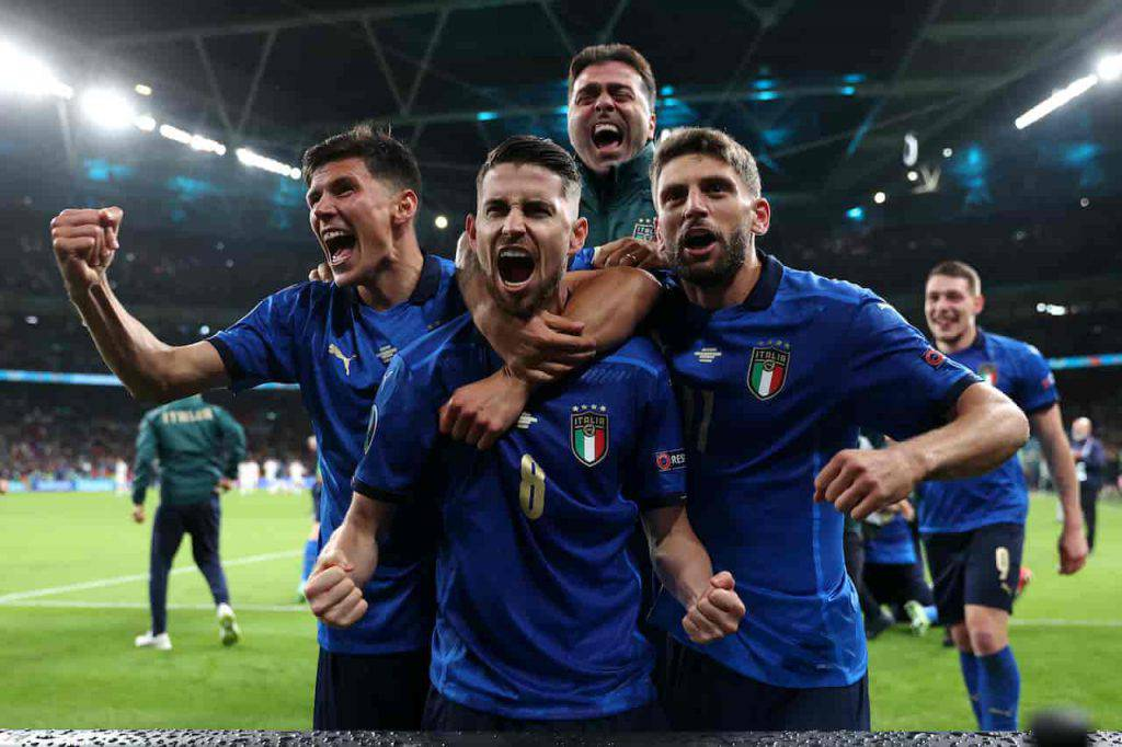 Gli azzurri protagonisti di Topolino (Getty Images)